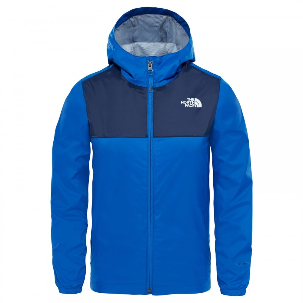 5cbc669e1f7f The North Face Boys Zipline Rain Jacket Turkish Sea - Kids from ...