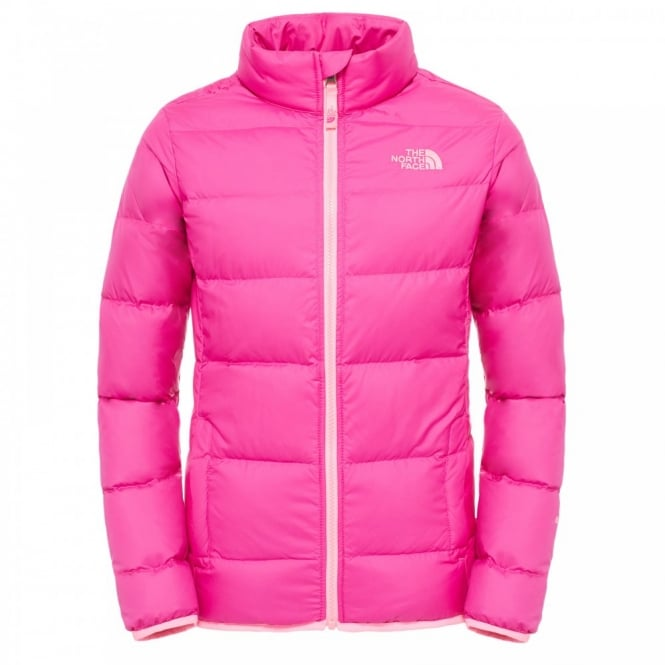 The North Face Girls Andes Jacket Luminous Pink