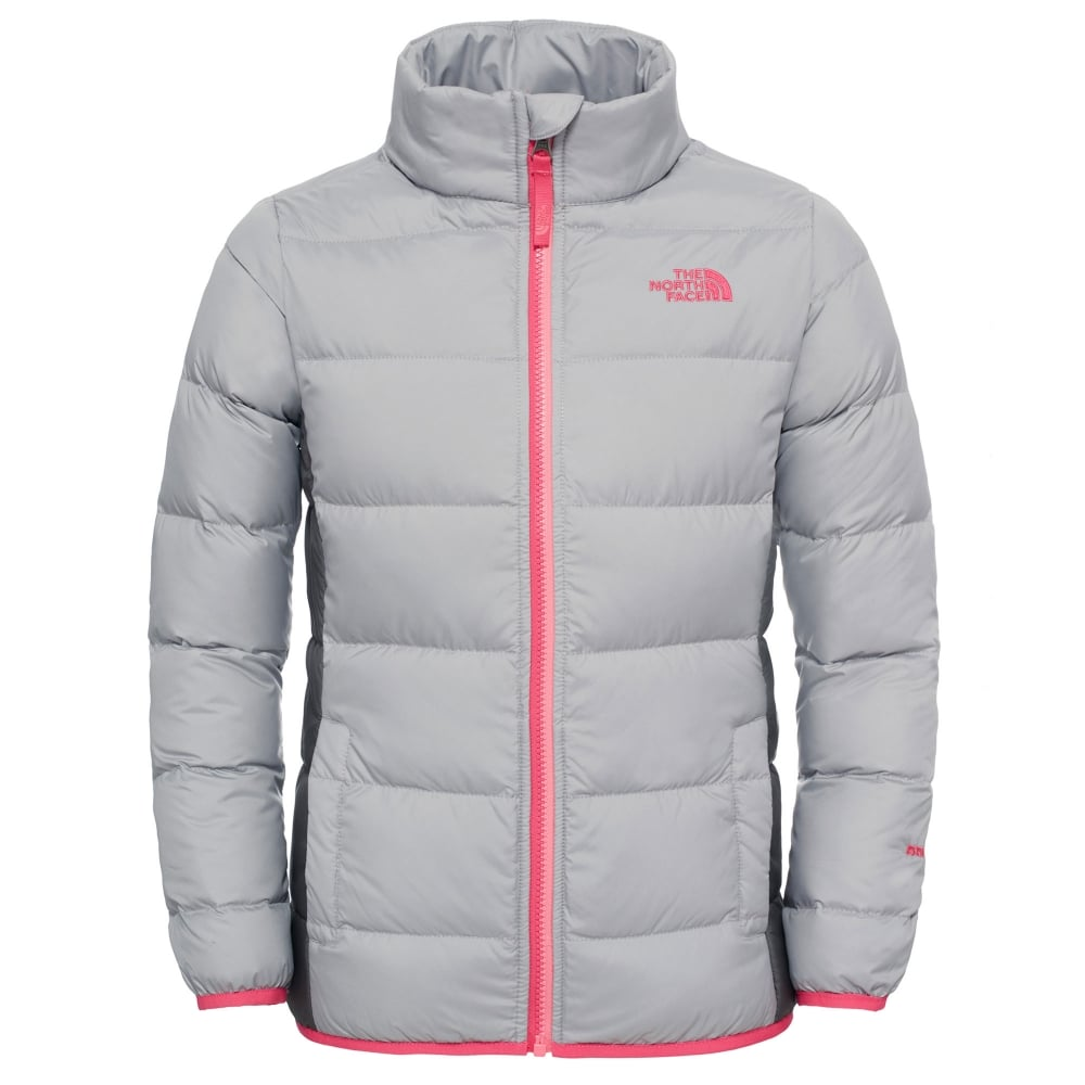 ae47d6362e30 The North Face Girls Andes Jacket Metallic Silver - Kids from Great ...