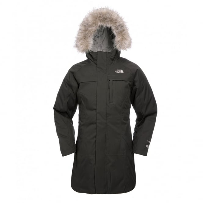 The North Face Girls Arctic Parka Tnf Black