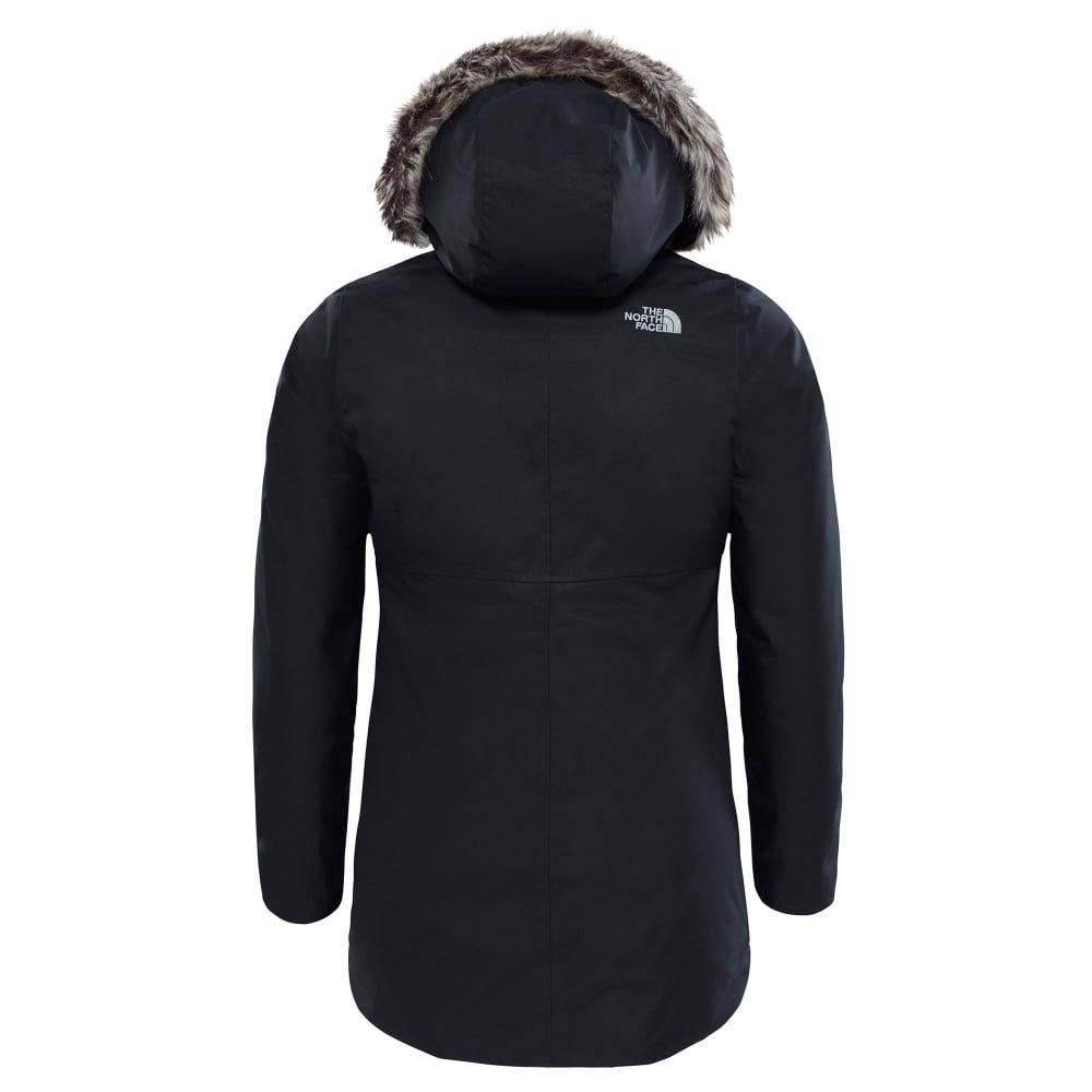 f231892ee Girls Arctic Swirl Down Jacket Black