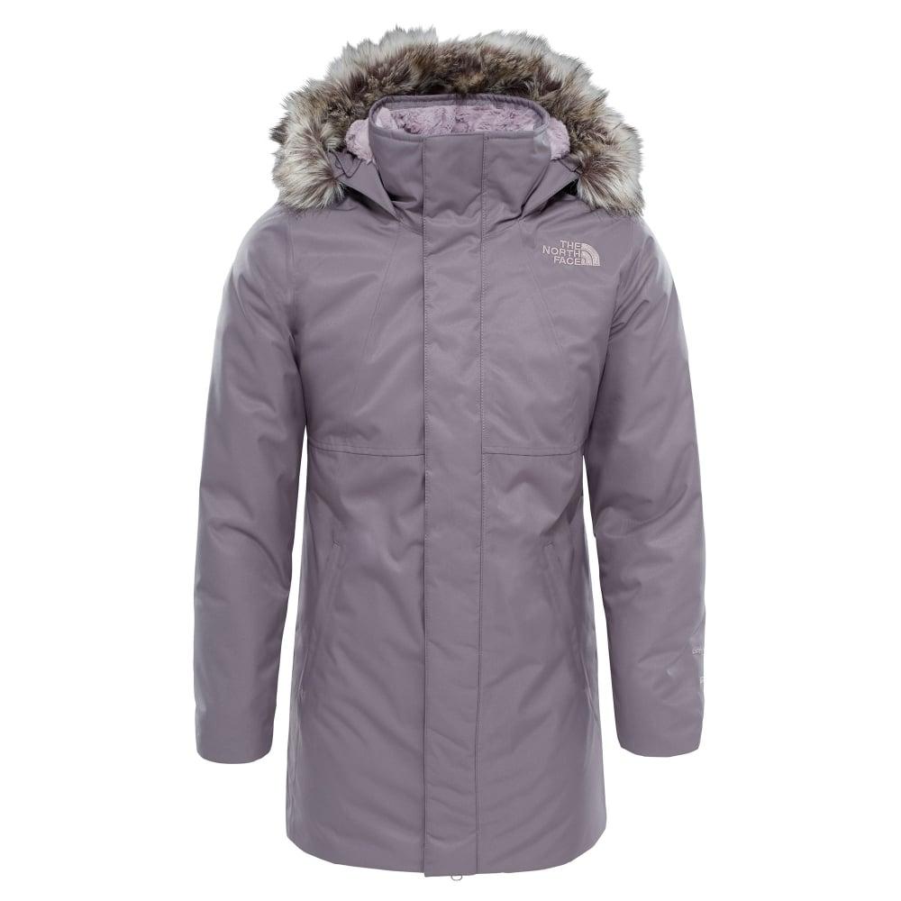 dd1abb51a Girls Arctic Swirl Down Jacket Rabbit Grey