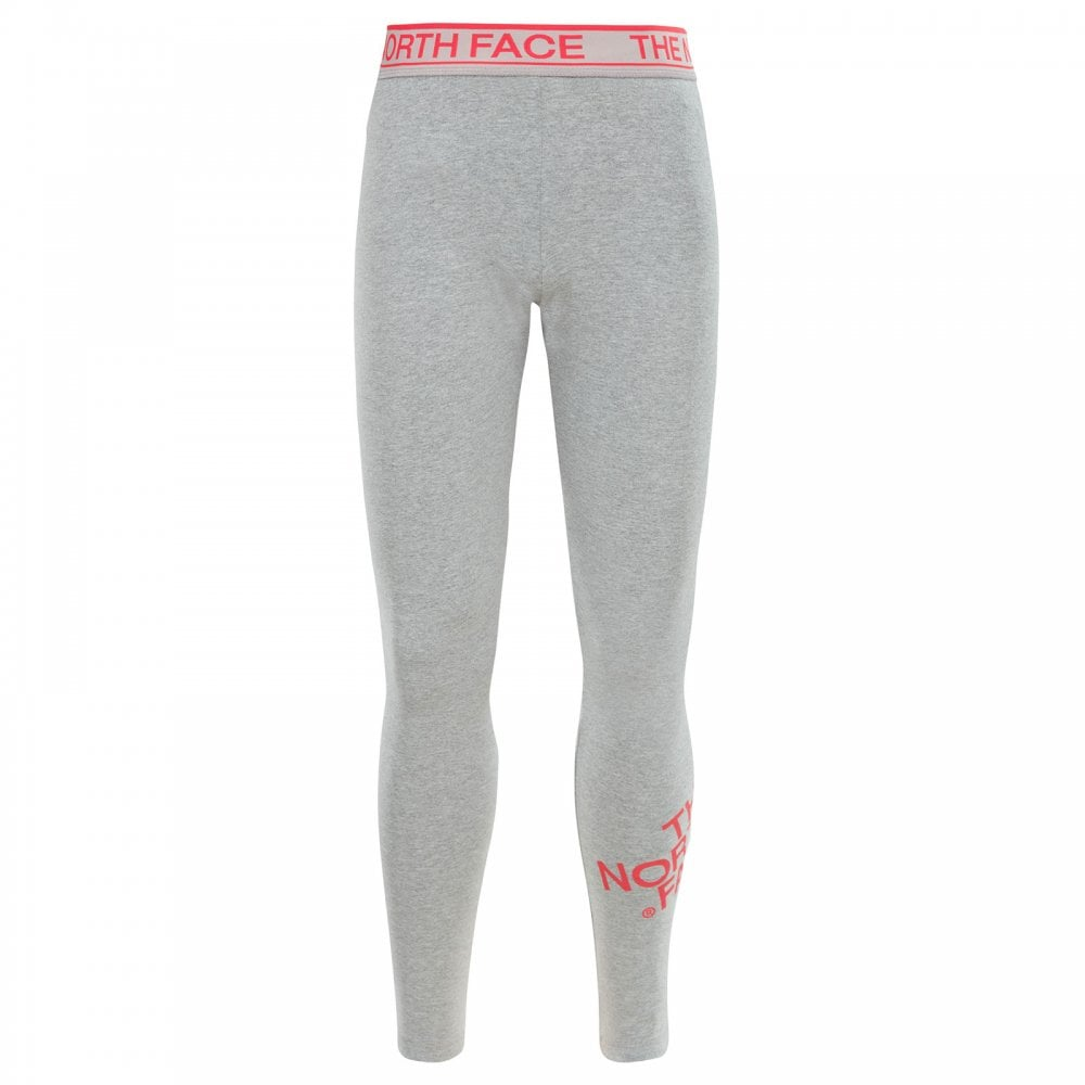 attractivefashion cheapest sale quality Girls Cotton Leggings TNF Light Grey Heather