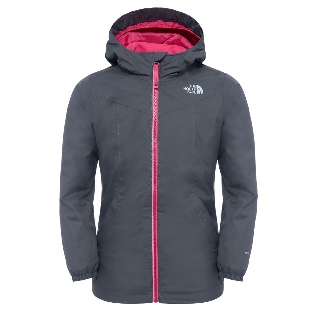 b3c0492121a The North Face Girls Eliana Triclimate Jacket Graphite Grey - Kids ...