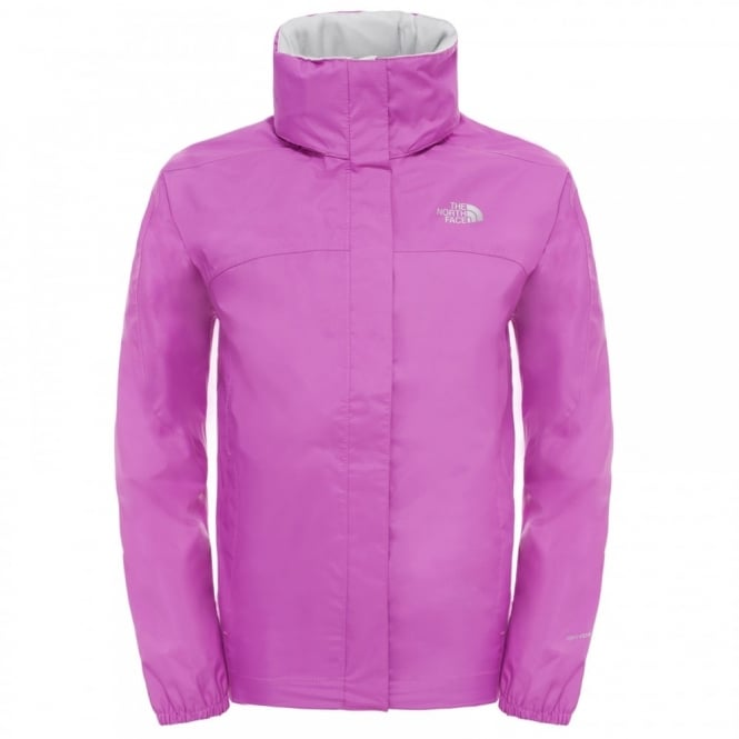 quality design ee879 f44c3 The North Face Girls Resolve Reflective Jacke Sweet Violet