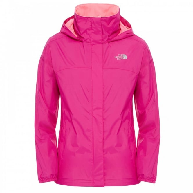 ea686ebdf324 The North Face Girls Resolve Reflective Jacket Luminous Pink - Kids ...