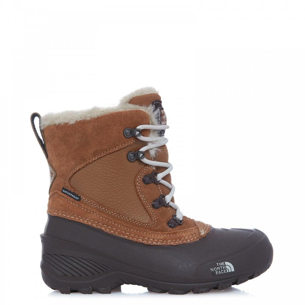 468991803 Girls Shellista Extreme Boot Dachsund Brown/Moonlight Ivory