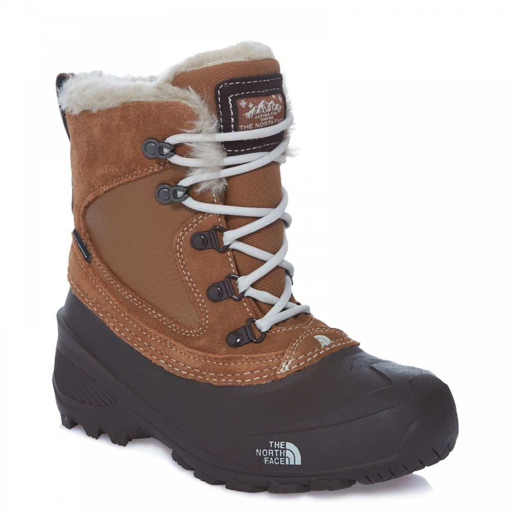 b41a33473 Girls Shellista Extreme Boot Dachsund Brown/Moonlight Ivory