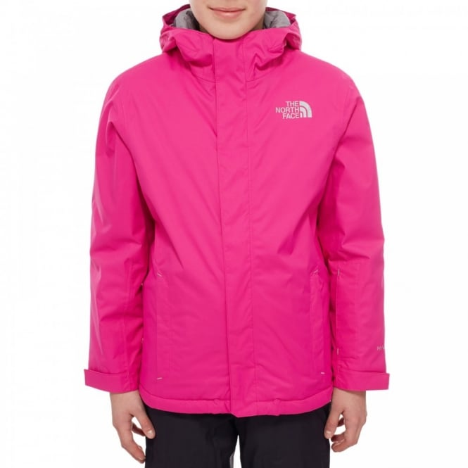 08b513526 The North Face Girls Snow Quest Jacket Luminous Pink - Kids from ...