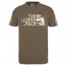 4f86782e65c Kids Easy Short Sleeve T-Shirt New Taupe Green Desert New. The North Face  ...