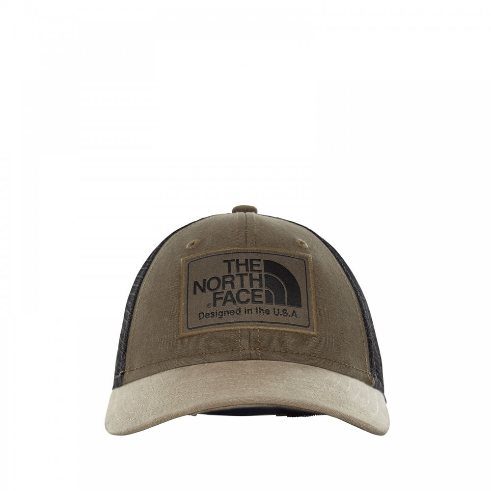 8fd2e03c0c1 The North Face Kids Mudder Trucker Hat New Taupe Green - Kids from ...