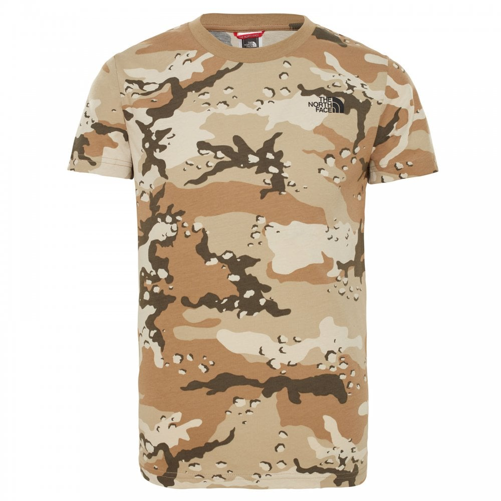 2a08db520 Kids Simple Dome Short Sleeve T New Taupe Green/Desert