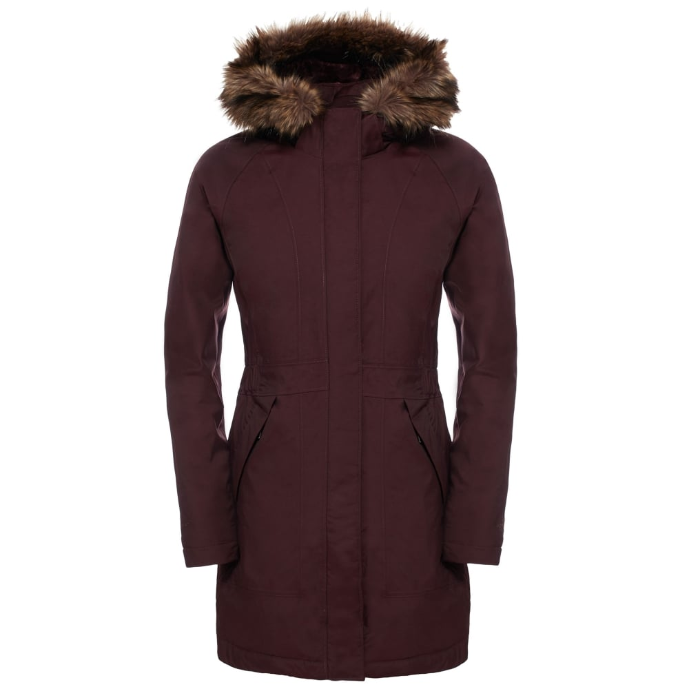 744f65501 The North Face Ladies Arctic Parka Root Brown