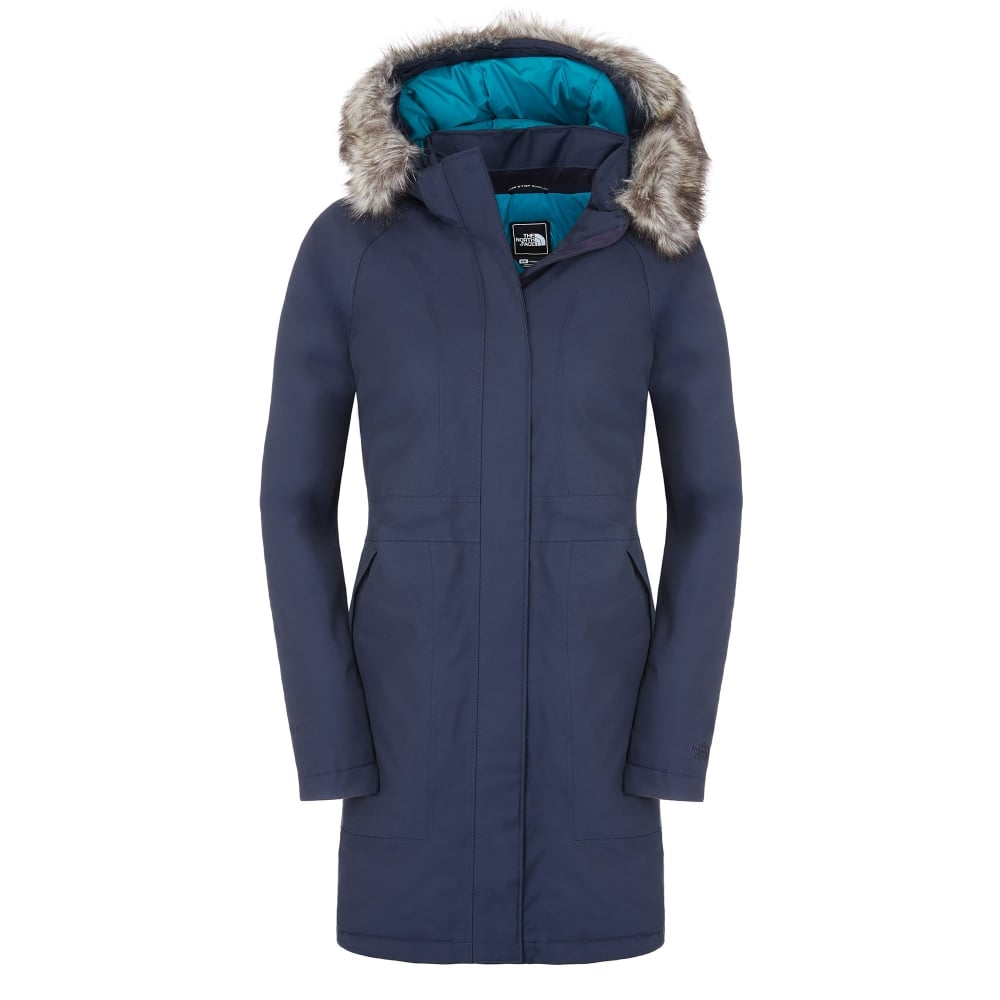the north face ladies arctic parka urban navy ladies. Black Bedroom Furniture Sets. Home Design Ideas