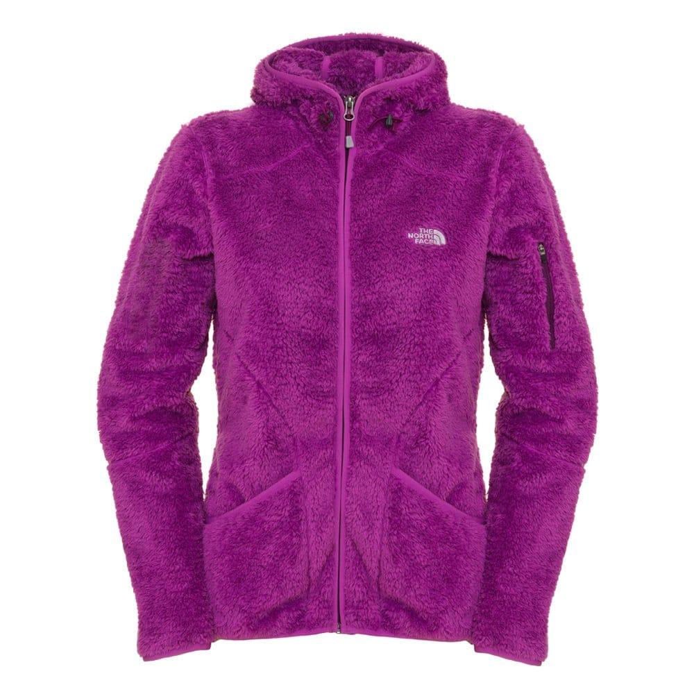 The North Face Ladies Cervinja Fleece Jacket, Plush Purple