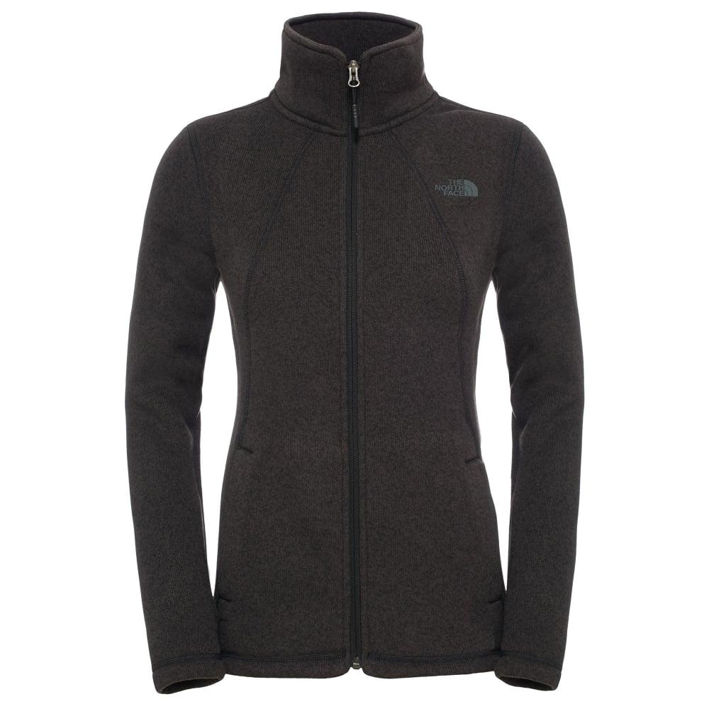 b1e5fa464a81 The North Face Ladies Crescent Full Zip Fleece Jacket TNF Black ...