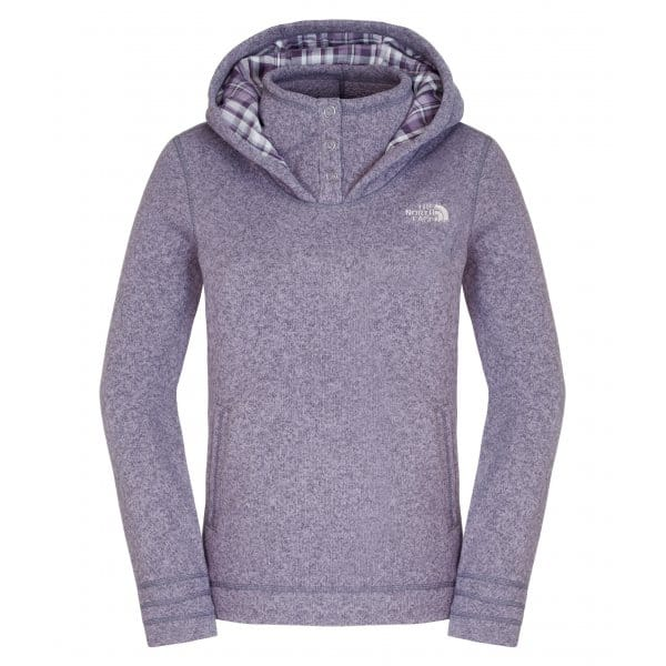 426d5c747 The North Face Ladies Crescent Sunset Hoodie Greystone Blue Heather