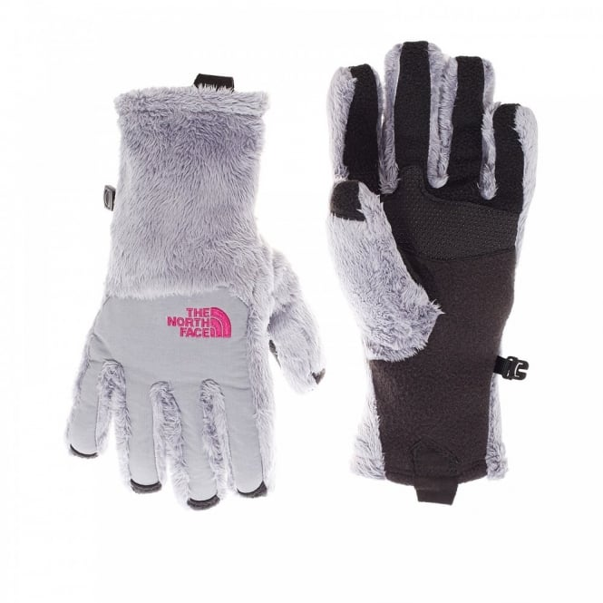 10646a0cd The North Face Ladies Denali Thermal Etip Glove Mid Grey