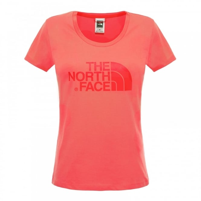 2a77d5be6 The North Face Ladies Easy T-Shirt Radiant Orange