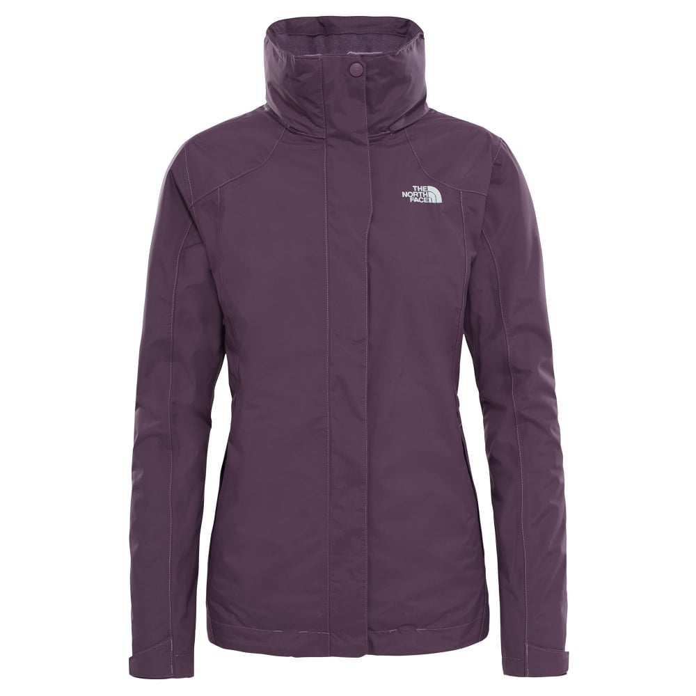 4ce3cad463 The North Face Ladies Evolution II Triclimate Jacket Black Plum ...