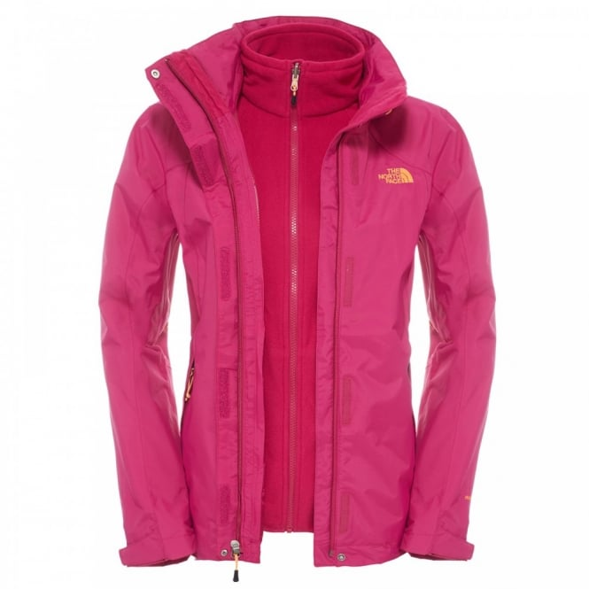 Evolution Ii Triclimate The North Face- Dramatic Plum jacket