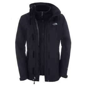 Ladies Evolution II Triclimate Jacket TNF Black