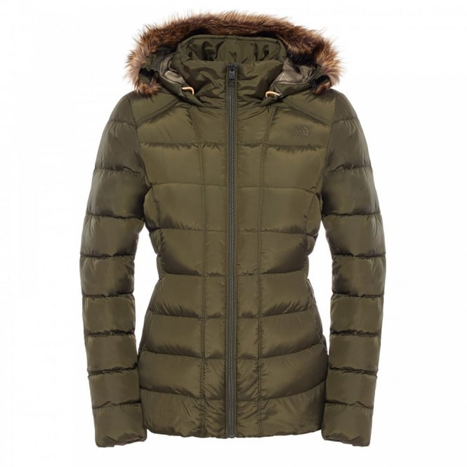 The North Face Ladies Gotham Jacket Forest Night Green - Ladies ...