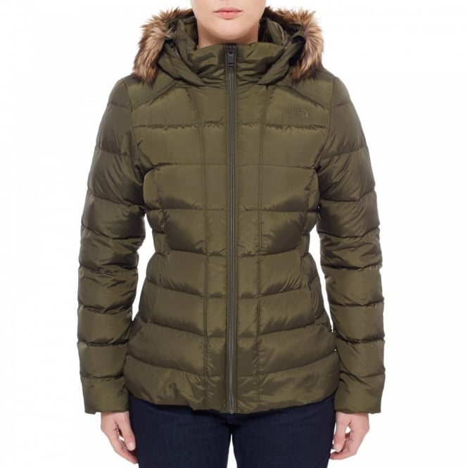 The North Face Ladies Gotham Jacket Forest Night Green - Ladies from ... 43905e5fa