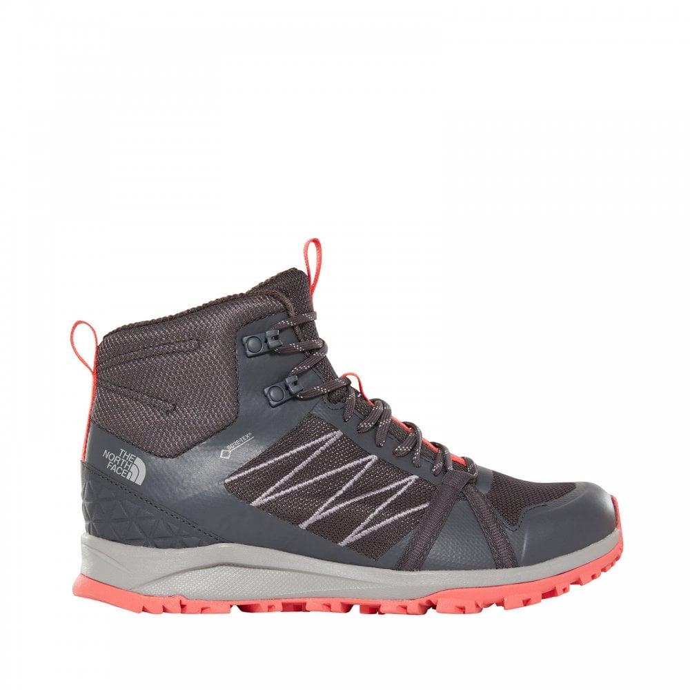 d88ebe13a Ladies Litewave Fastpack II Mid Gtx Boots Ebony Grey