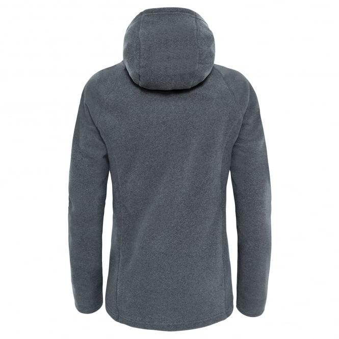 eadd35ca6 The North Face Ladies Mezzaluna Full Zip Fleece TNF Medium Grey ...