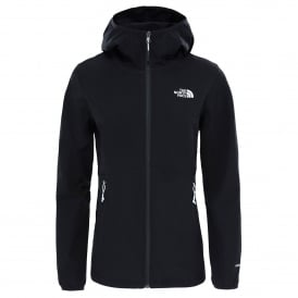 Ladies Nimble Softshell Hoodie Black