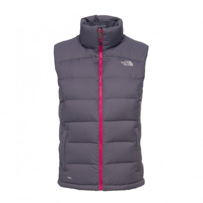 0e467dd6d5 The North Face Ladies Greystone Blue Nuptse 2 Vest - Free UK Delivery