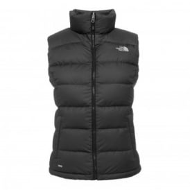 Ladies Nuptse II Vest TNF Black