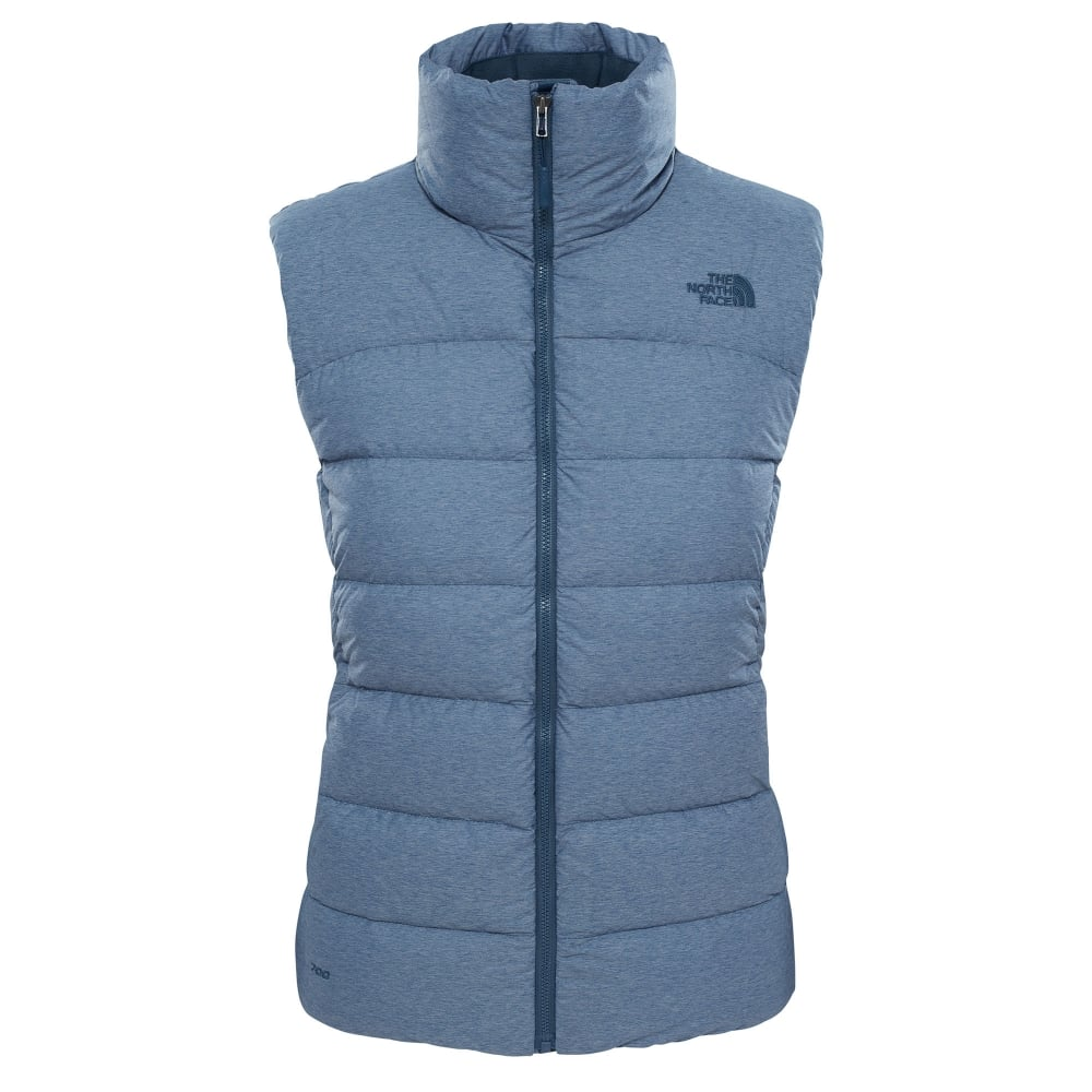 bd9a3cf5b3 The North Face Ladies Nuptse Vest Ink Blue - Ladies from Great ...