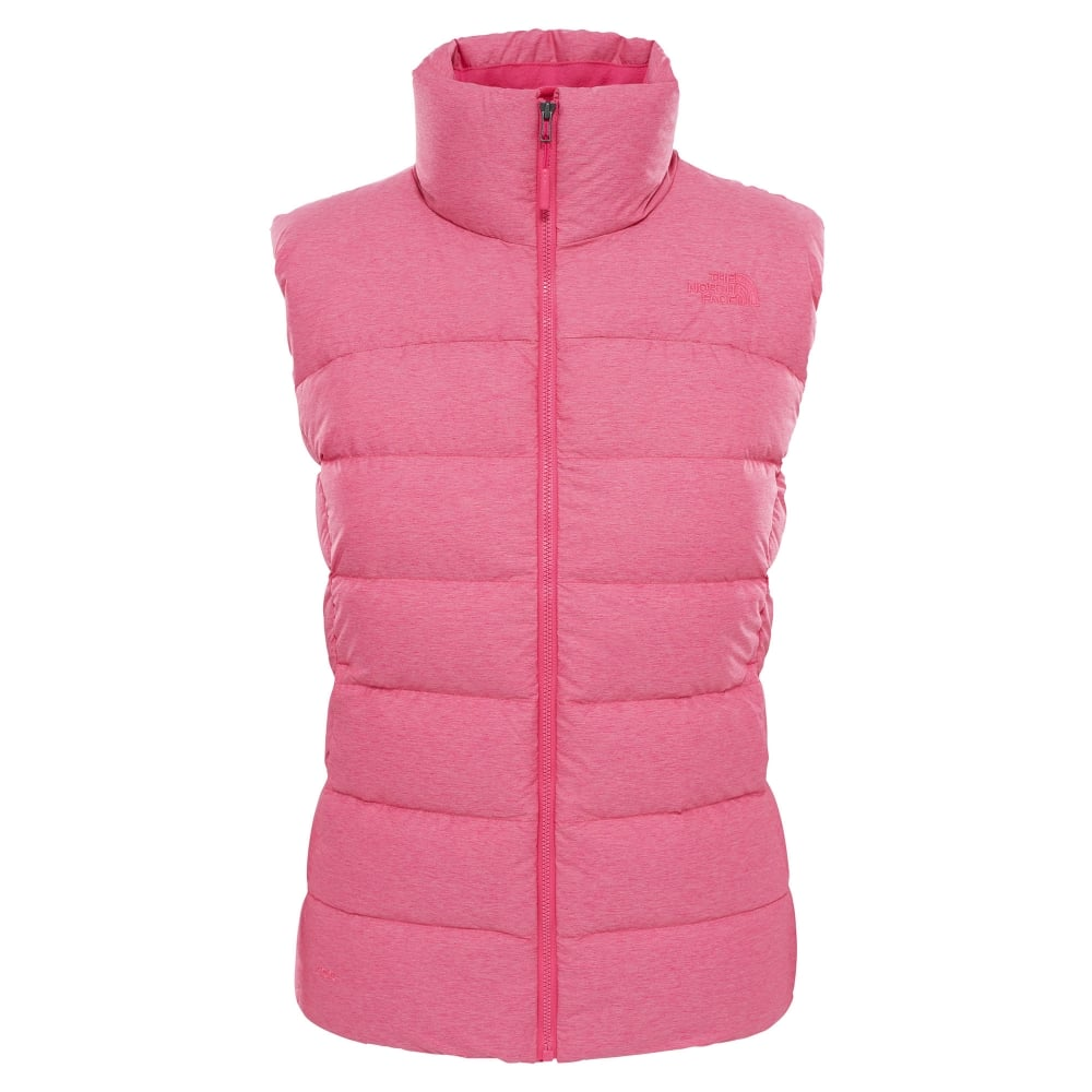 f710bb531a The North Face Ladies Nuptse Vest Petticoat Pink - Ladies from Great ...