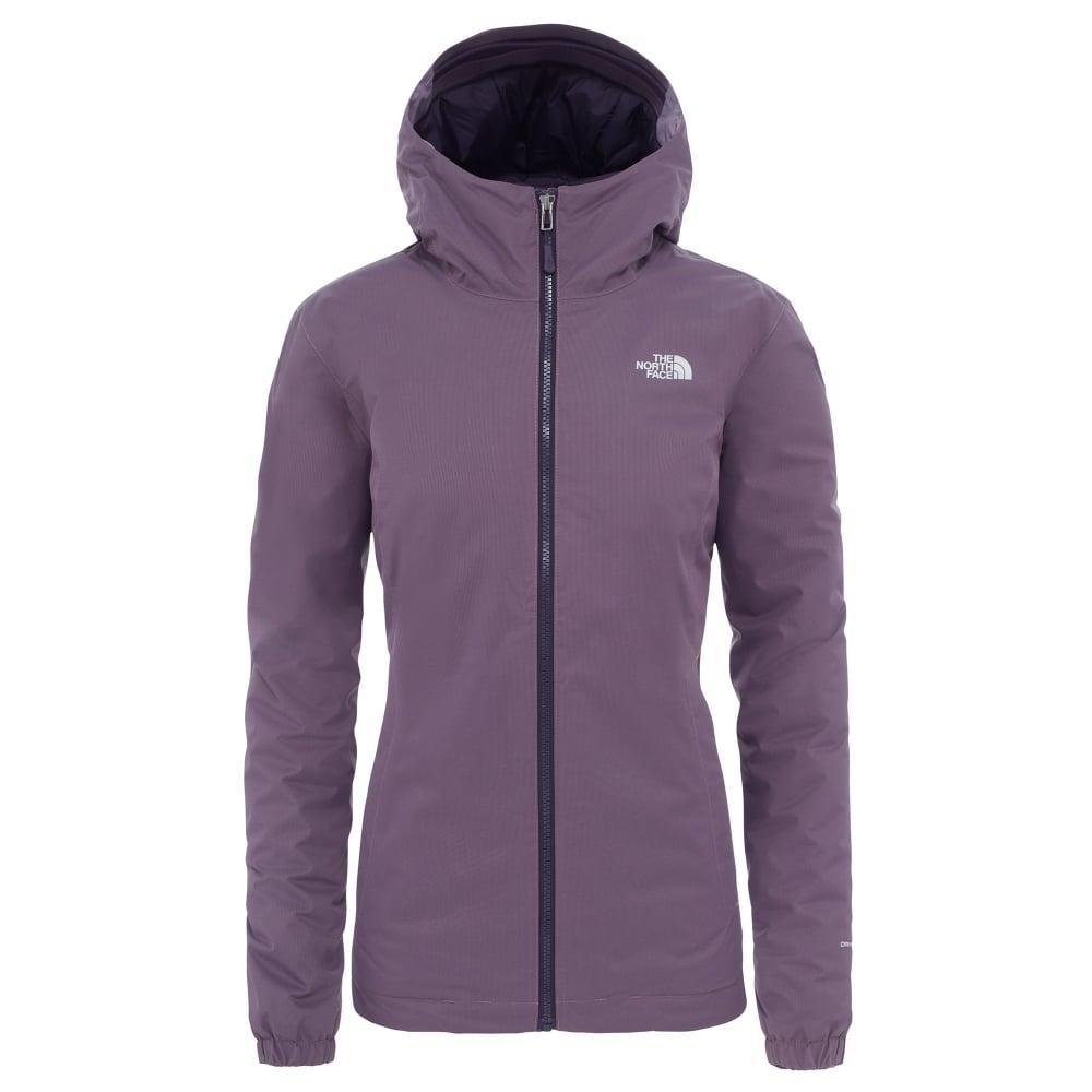 e7837ce96926 The North Face Ladies Quest Insulated Jacket Black Plum - Ladies ...