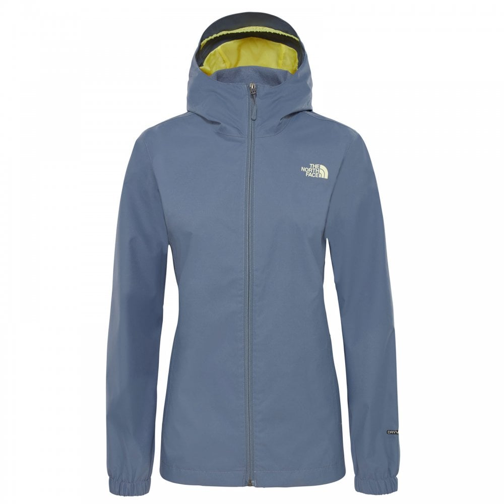c1565f8b942b The North Face Ladies Quest Jacket Grisaille Grey Exotic Green ...