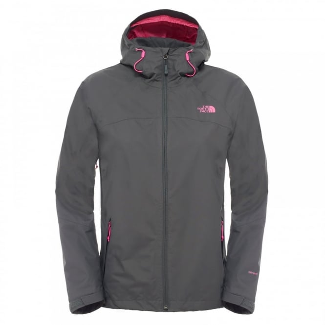3e162d3a7 The North Face Ladies Sequence Jacket Asphalt Grey/Raspberry Rose