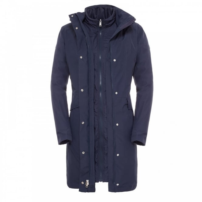 Ladies Suzanne Triclimate Jacket Outer Space Blue