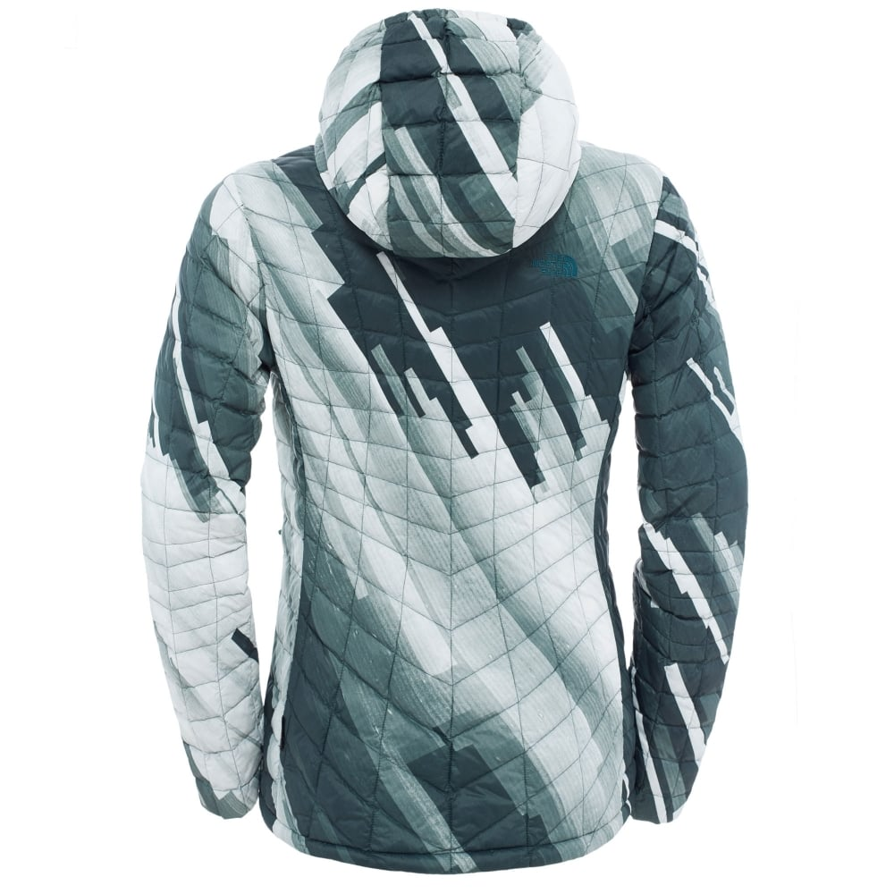 998016be8852 The North Face Ladies Thermoball Hoodie Darkest Spruce - Ladies from ...