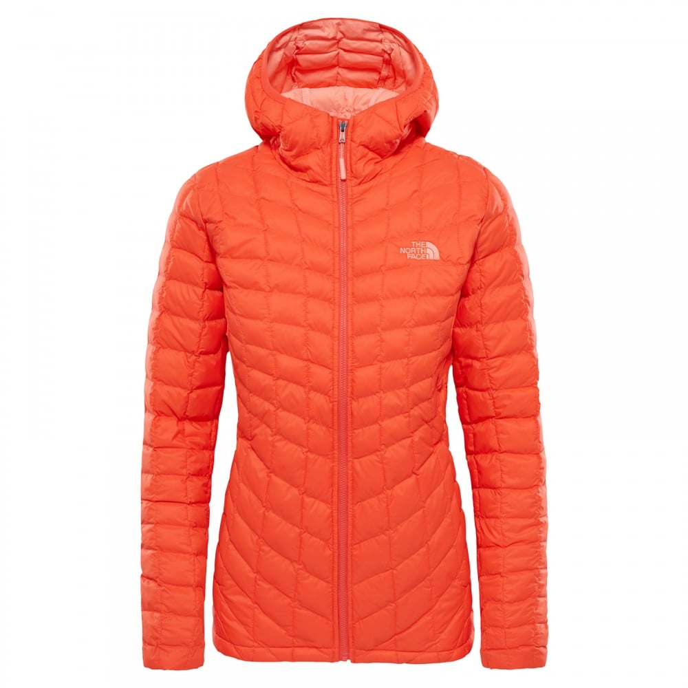 eb3f62ca6 Ladies Thermoball Hoodie Fire Brick Red