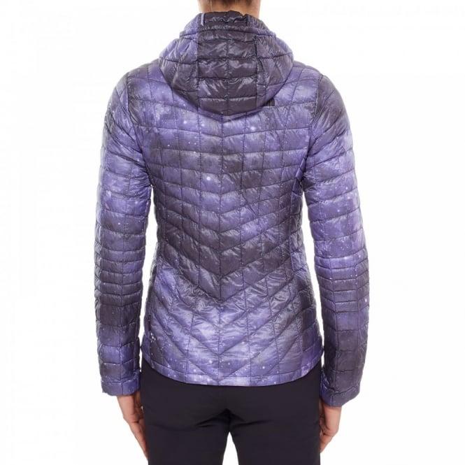 20a3d5eb7 Ladies Thermoball Hoodie Garnet Purple Print