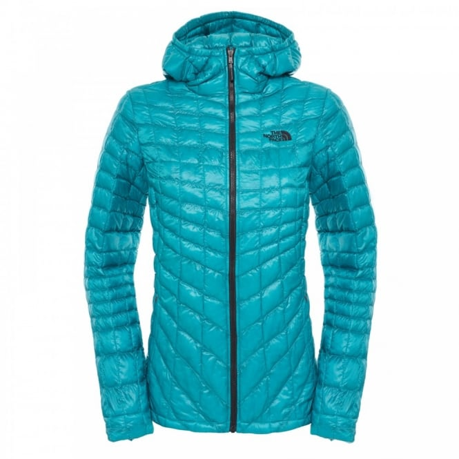 9cb0512a425 The North Face Ladies Thermoball Hoodie Kokomo Green - Ladies from ...