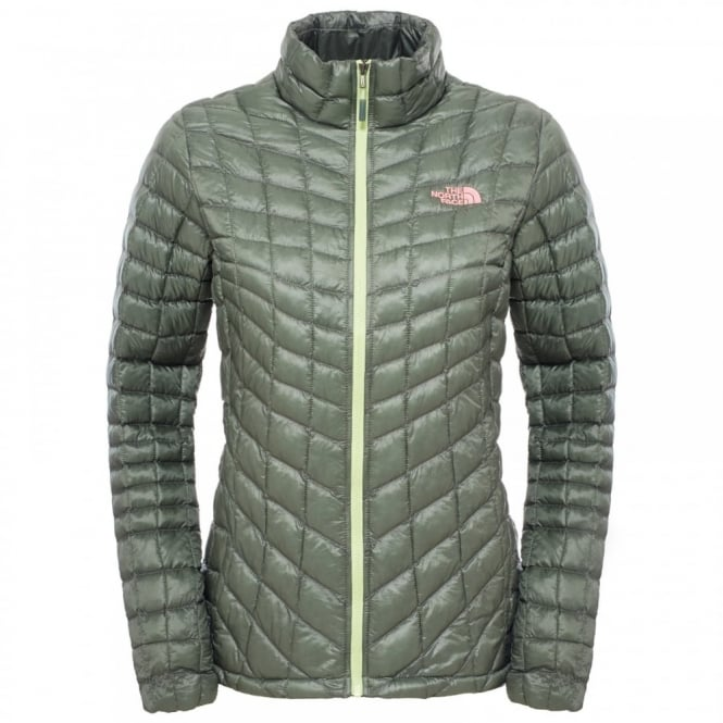db4399a26c1 The North Face Ladies Thermoball Jacket Laurel Wreath Green - Ladies ...
