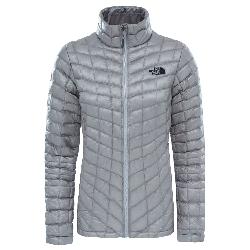 9f09c6c63 Ladies Thermoball Jacket Metallic Silver