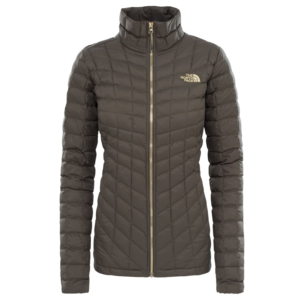 f82e0ede7 Ladies Thermoball Jacket New Taupe Green