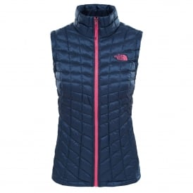 Ladies Thermoball Vest Ink Blue