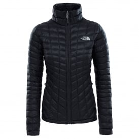 Ladies Thermoball Zip-In Jacket Black