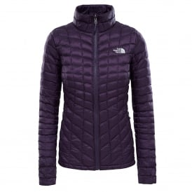 Ladies Thermoball Zip-In Jacket Dark Eggplant Purple
