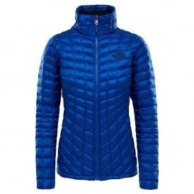 Ladies Thermoball Zip-In Jacket Sodalite Blue